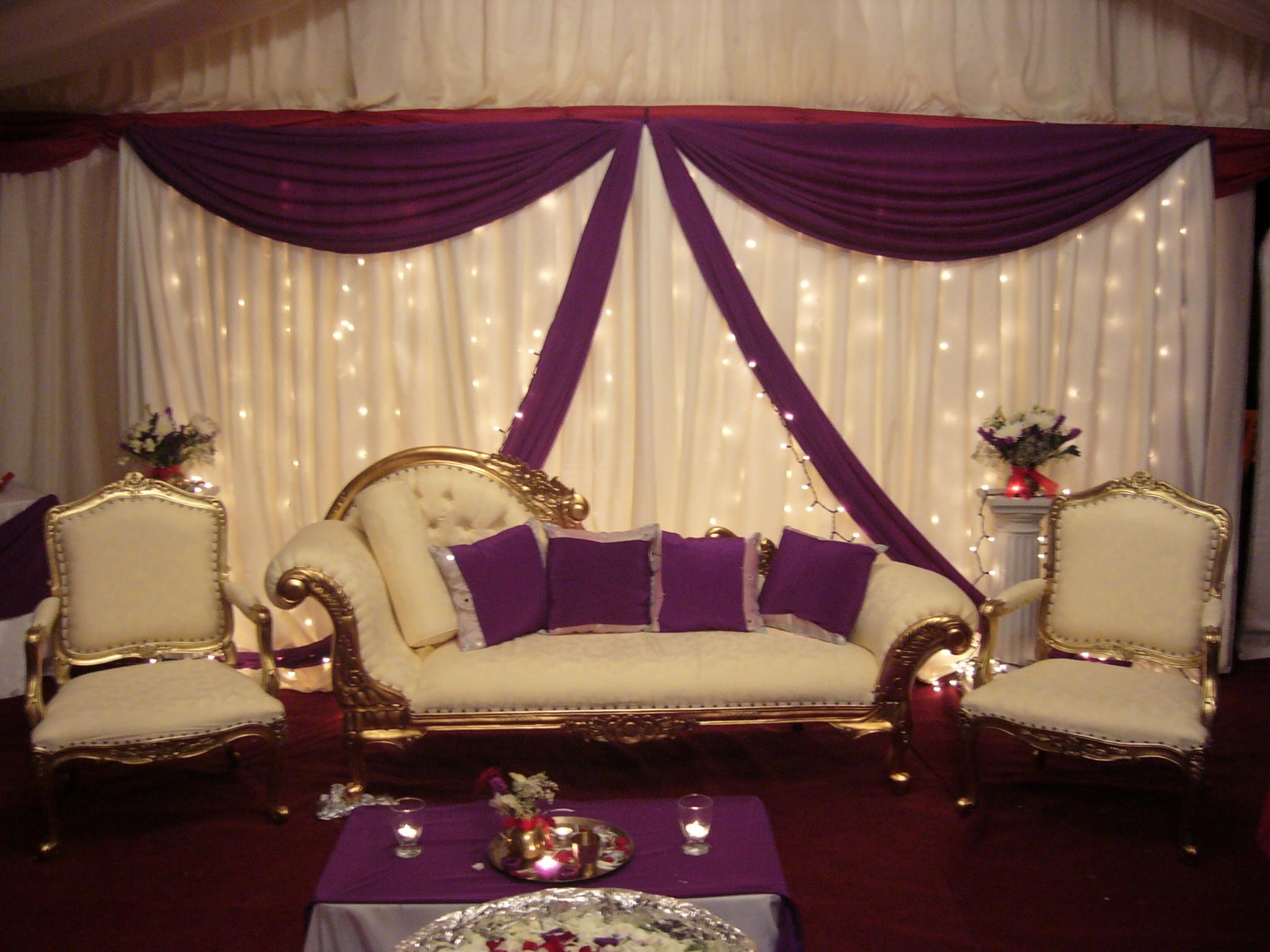 Wedding Decorating: Indian Wedding Stage Decorations